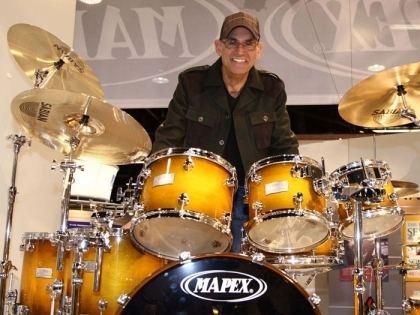 Liberty DeVitto Keith Harris SABIAN Cymbals