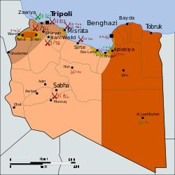 Libyan Civil War (2011) Libyan Civil War 2011 Wikipedia