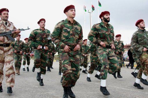 Libyan National Army Libya army graduates first Tripolitrained troops