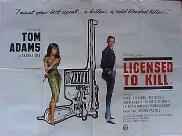 Licensed to Kill (1965 film) Licensed to Kill 1965 film Wikipedia