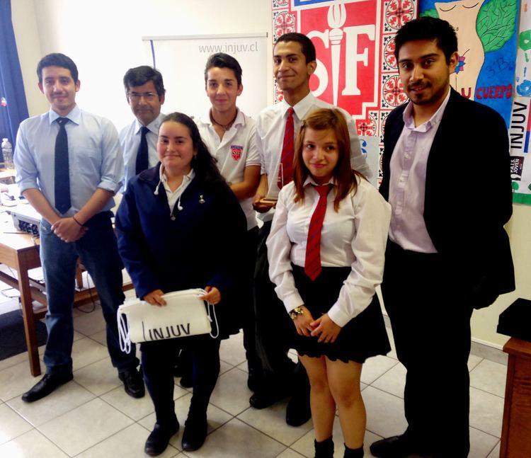 Liceo Neandro Schilling INICIATIVA DEL INSTITUTO NACIONAL DE LA JUVENTUD ESTUDIANTES DEL