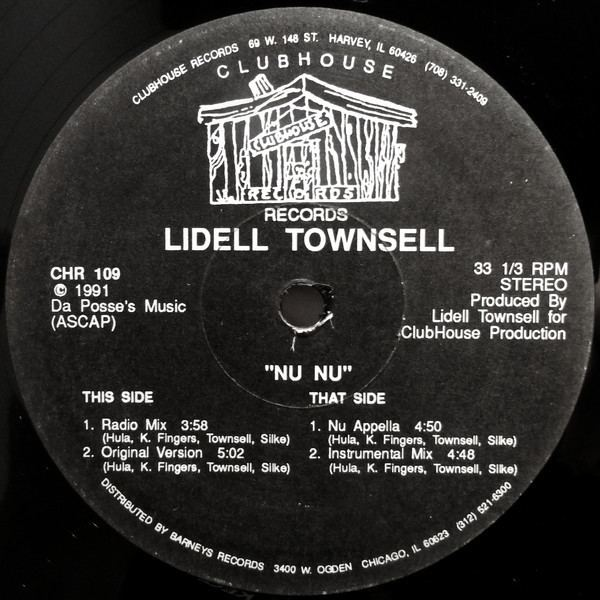 Lidell Townsell Lidell Townsell Nu Nu at Discogs