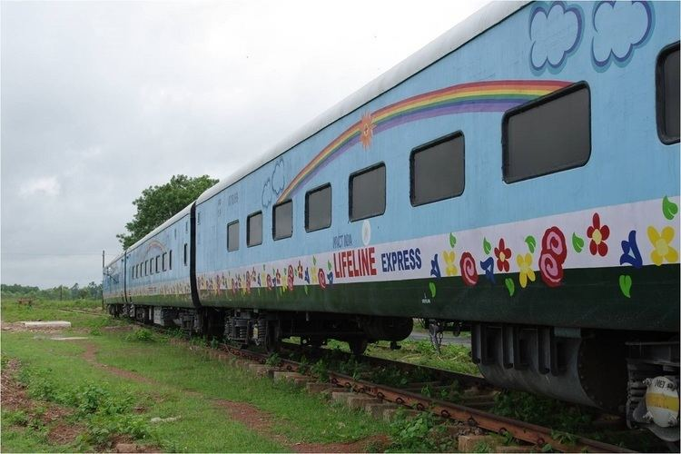 Lifeline Express Lifeline Express World39s First Train Hospital Celebrating Silver