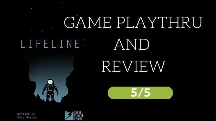 Lifeline (mobile game) Lifeline iOS Game Review 55 buy it YouTube