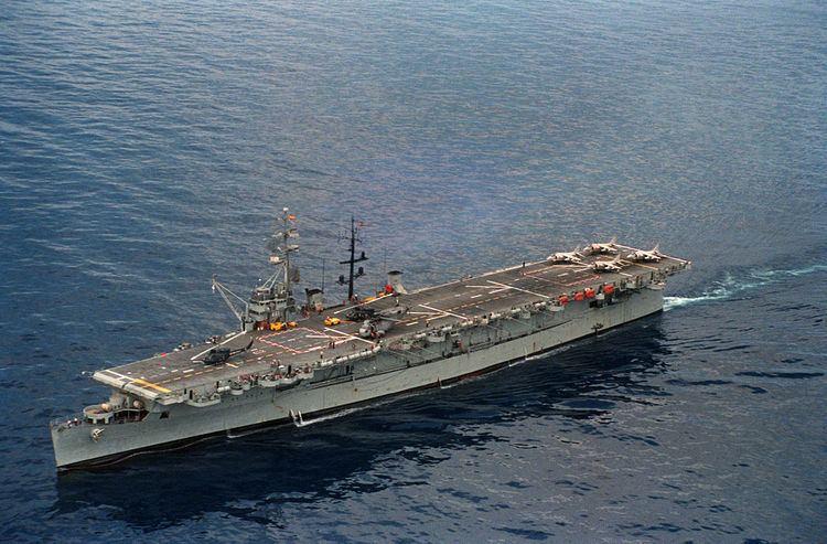 Light aircraft carrier