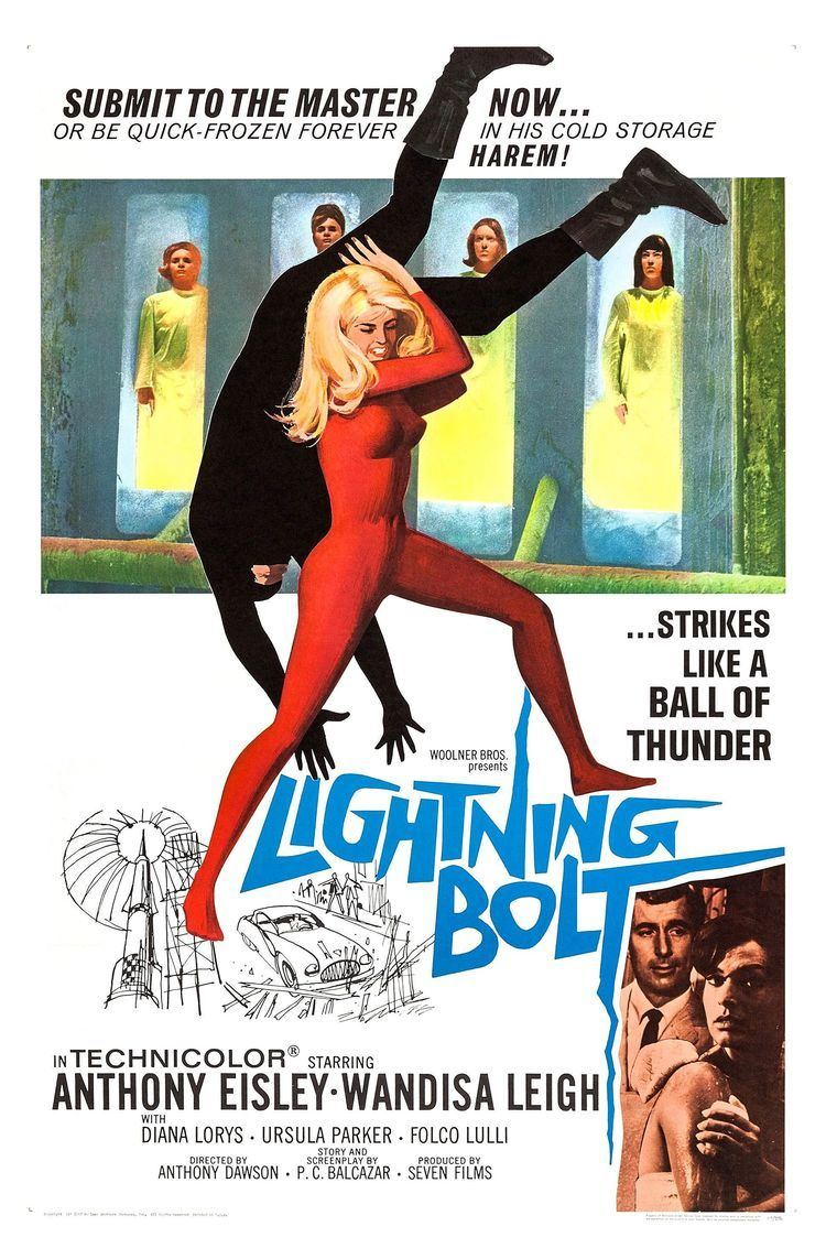 Lightning Bolt (film) Lightning Bolt 1966 Movie Posters Pinterest Lightning bolt