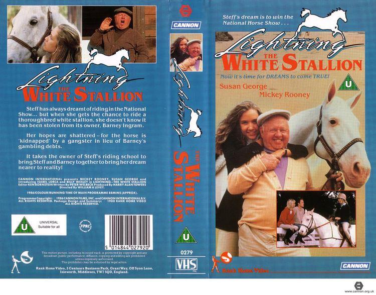 Lightning, the White Stallion RetroDaze VHS Covers