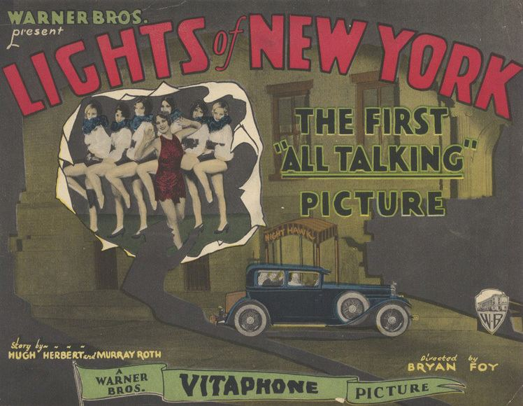 Lights of New York (1928 film) johnlink ranks LIGHTS OF NEW YORK 1928 johnlinkmovies
