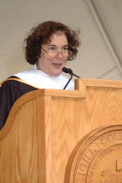 Lila Abu-Lughod Carleton College Commencement 2006 Photos Lila AbuLughod