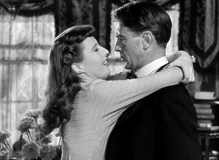 Lilac Ball movie scenes Ball of Fire movie scenes Barbara Stanwyck and Gary Cooper in a scene from the movie