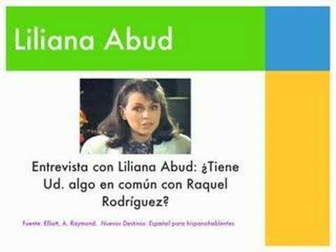 Liliana Abud Entrevista con Liliana Abud YouTube