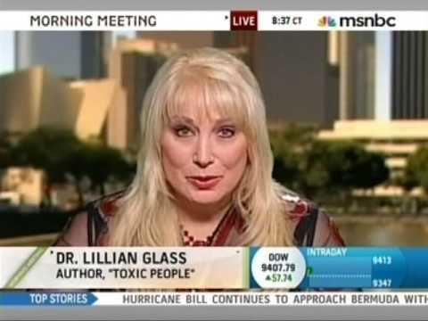 Lillian Glass Dr Lillian Glass on msnbc discussing Ryan Jenkins Abuse