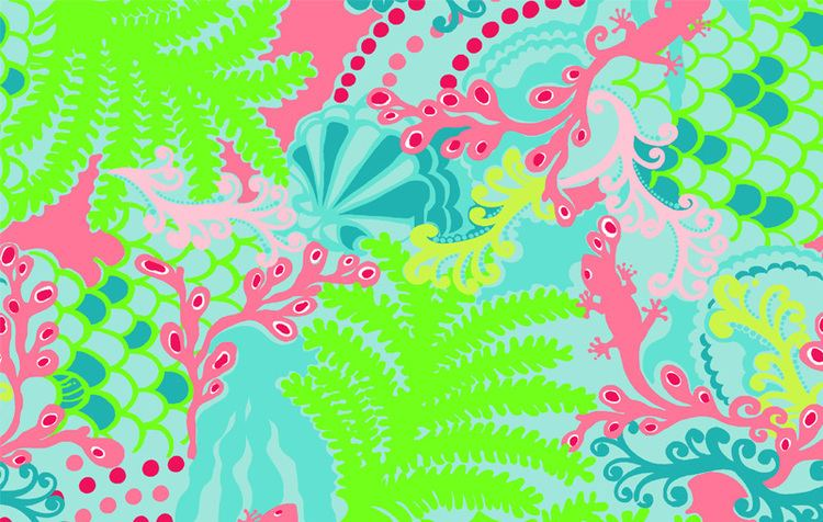 Lilly Pulitzer New Lilly Pulitzer Print Checking in Blue Threads by