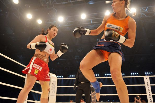 Lim Su-Jeong (kickboxer) Christine Theiss and Sujeong Lim Photos quotNight Of The