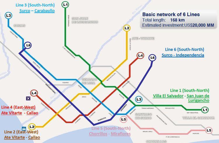 Lima Metro Three consortia line up for Lima Metro Line 2 TunnelTalk