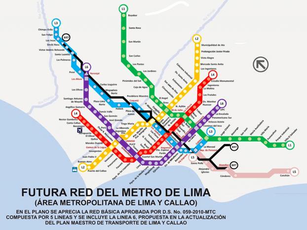 Lima Metro Europeans plan third metro line in Lima