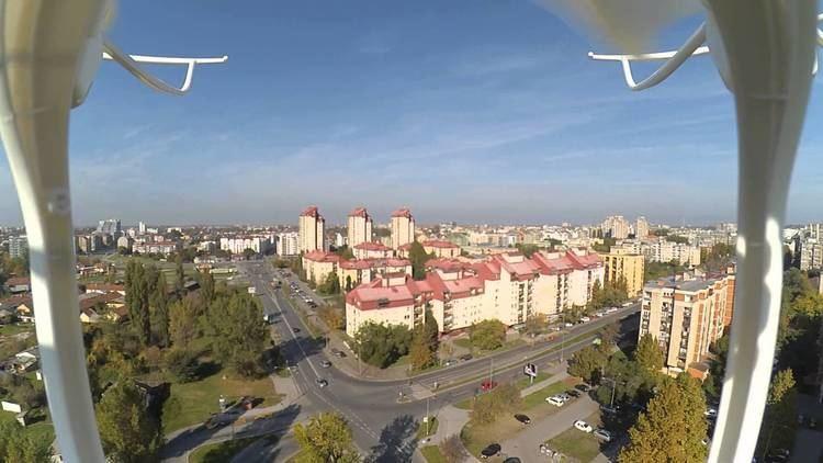 Liman, Novi Sad MJX X101 with Xiaomi Yi Liman 4 Novi Sad Serbia YouTube