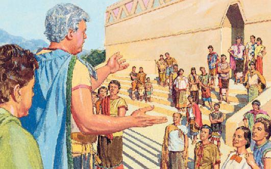 Limhi NephiCode Several Unusual Men Limhi and Gideon VI