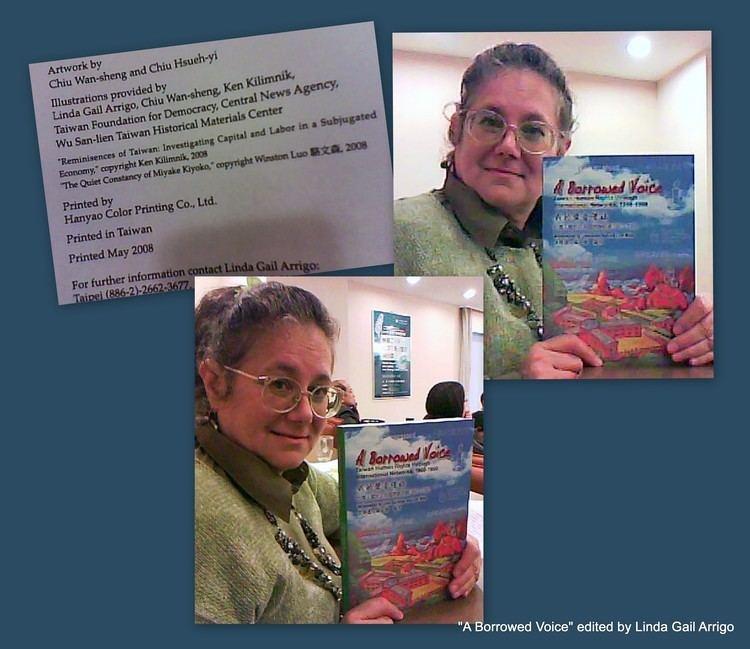 Linda Arrigo DR LINDA GAIL ARRIGO A Borrowed Voice TAIWAN