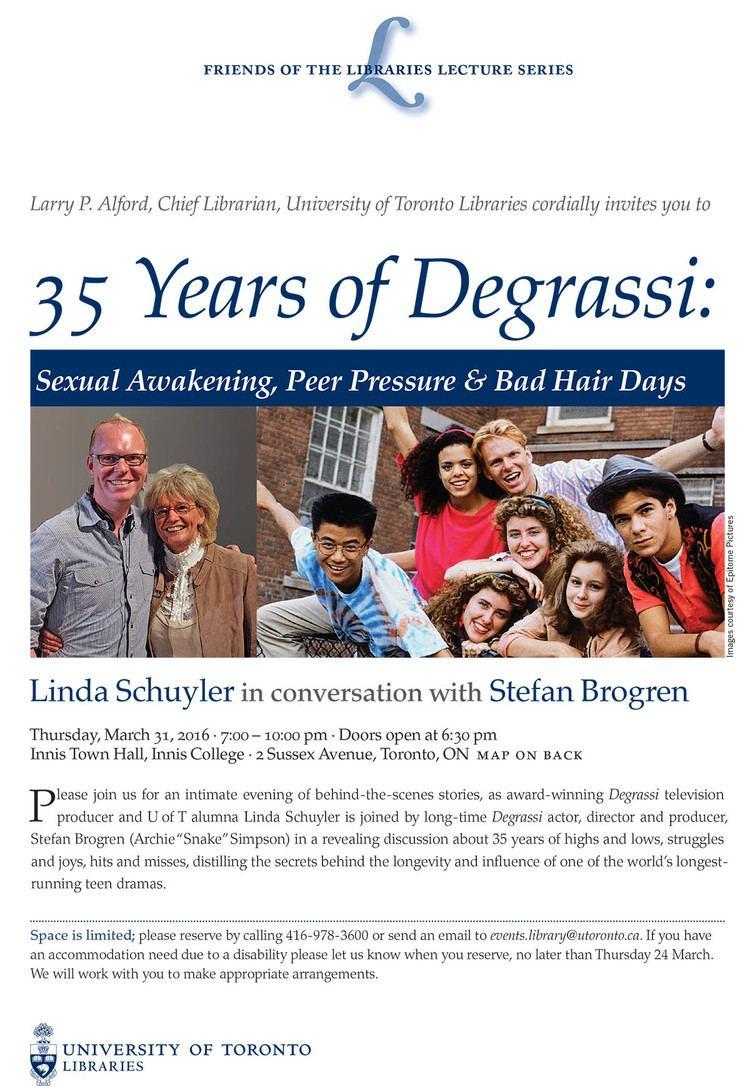Linda Schuyler UTL Presents UofT Libraries with Innis Alumna Linda Schuyler