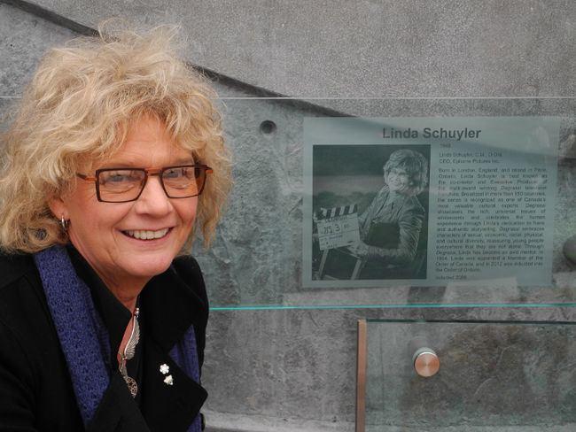 Linda Schuyler Stars come out for Walk of Fame unveiling Brantford