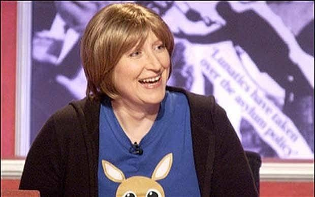 Linda Smith (comedian) Comedy and charity39s special relationship should be
