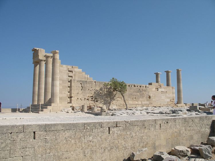 Lindos in the past, History of Lindos