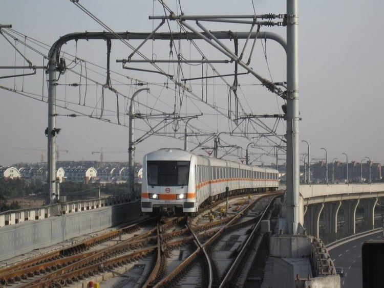 Line 7, Shanghai Metro staticpanoramiocomphotoslarge48878330jpg