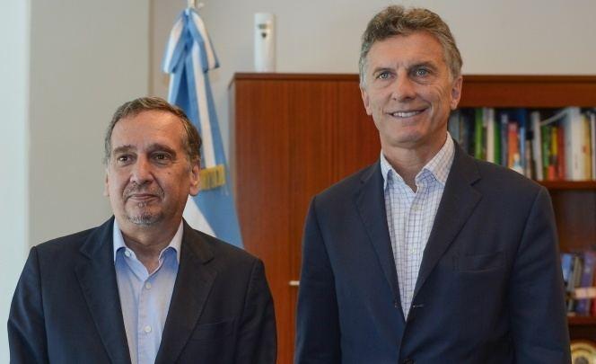 Lino Barañao El presidente Mauricio Macri se reuni con el ministro Lino Baraao