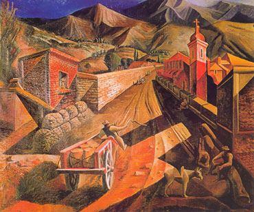 Lino Enea Spilimbergo Lino Enea Spilimbergo Paisaje de San Juan 1929 Flickr