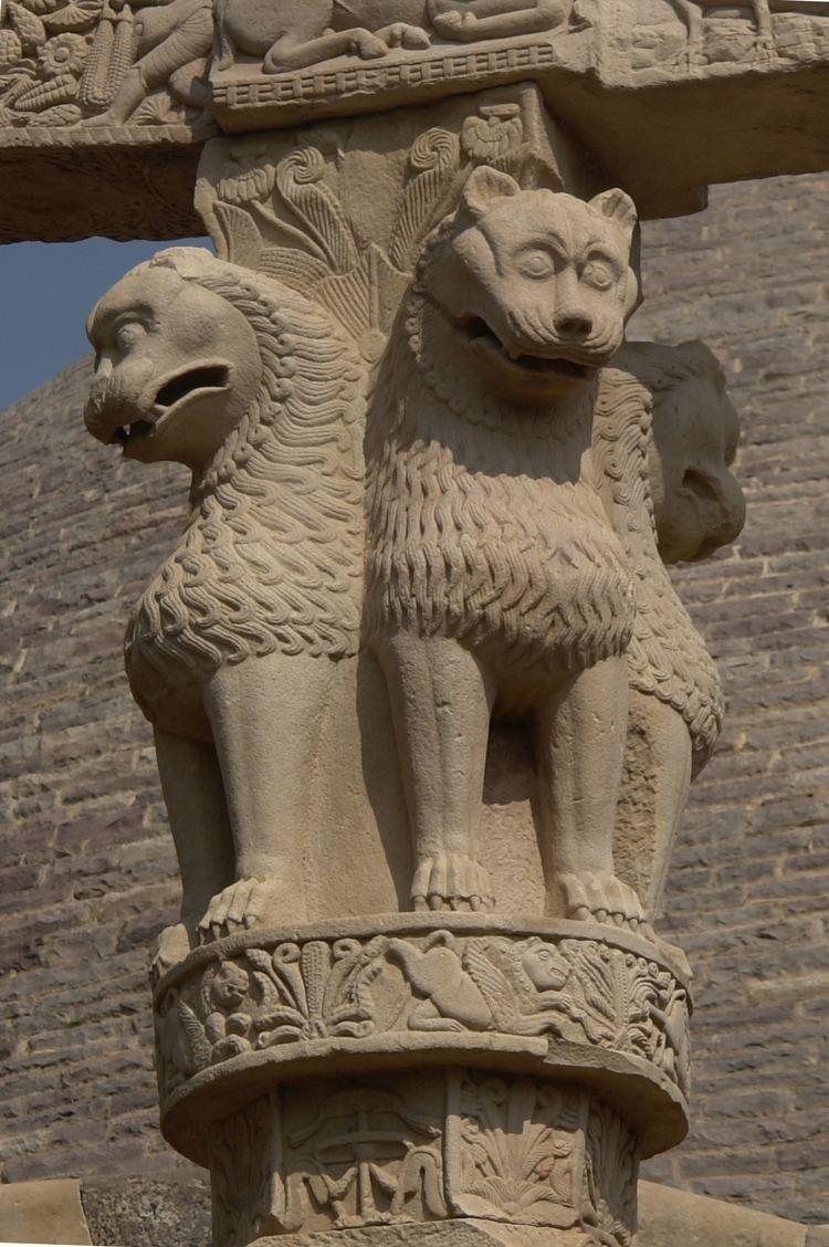 Lion Capital of Ashoka httpsuploadwikimediaorgwikipediacommons66