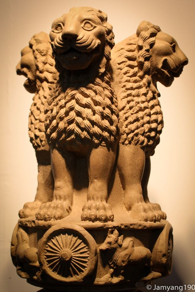 Lion Capital of Ashoka Lion Capital of Ashoka Do not copy or use without permissi Flickr