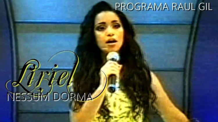Liriel Domiciano Liriel Domiciano Nessum Dorma Programa Raul Gil YouTube