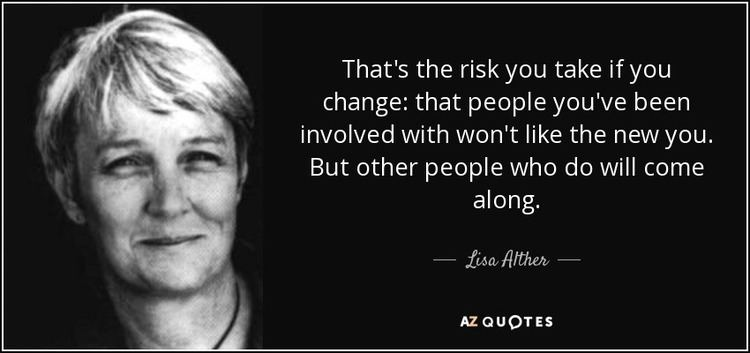 Lisa Alther TOP 21 QUOTES BY LISA ALTHER AZ Quotes