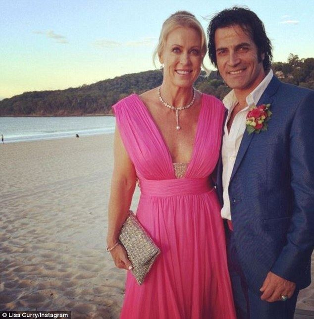 Lisa Curry Lisa Curry may have secretly married boyfriend Mark Andrew Tabone in