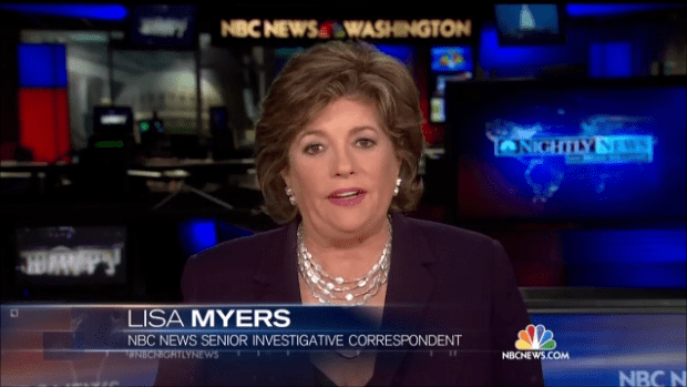 Lisa Myers Lisa Myers Ignores Her Own ObamaCare Bombshell on NBC