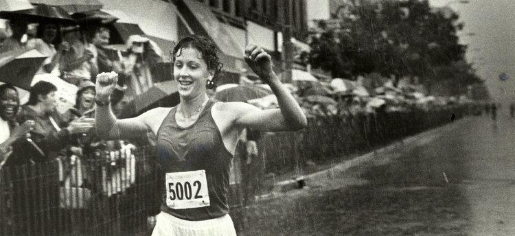 Lisa Rainsberger Crim launched pro running career of Lisa Weidenbach