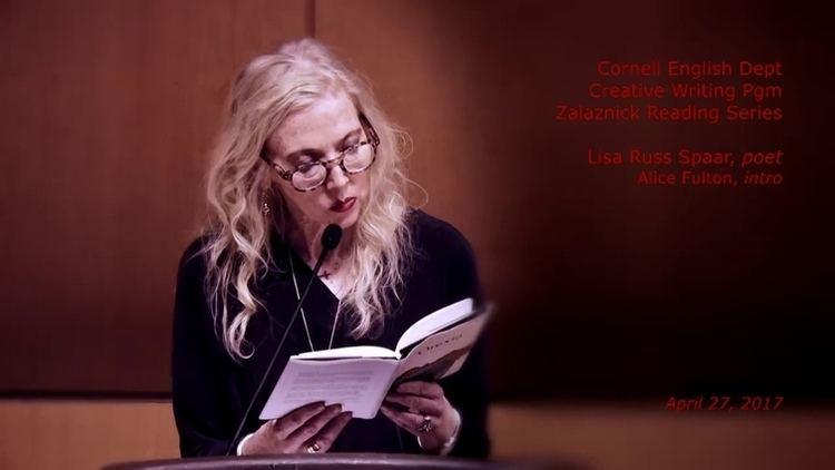 Lisa Russ Spaar Reading by poet and essayist Lisa Russ Spaar 42717 CornellCast