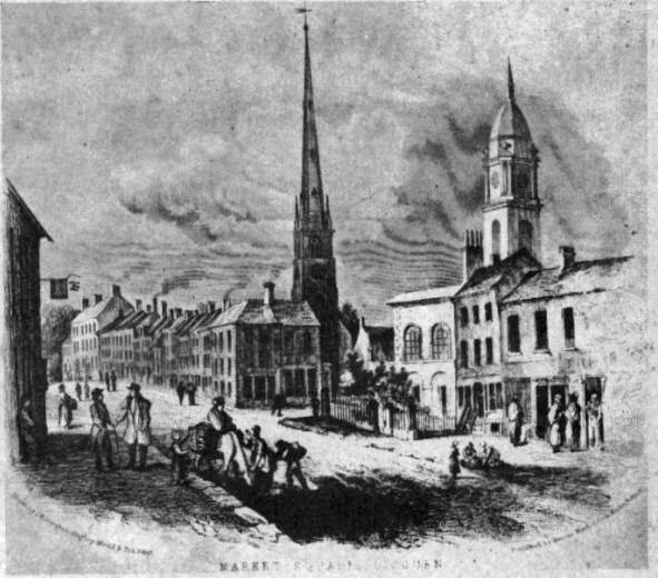 Lisburn in the past, History of Lisburn
