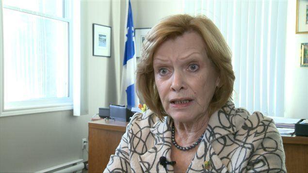 Lisette Lapointe Lisette Lapointe minoritaire son conseil municipal