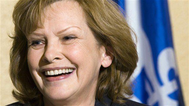 Lisette Lapointe Lisette Lapointe devient mairesse de SaintAdolphed