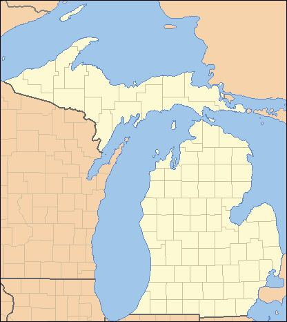 List of counties in Michigan
