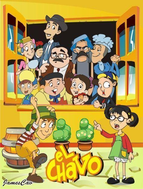 The animated series of El Chavo del Ocho