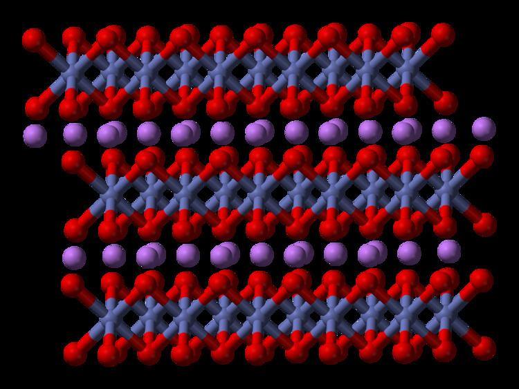 Lithium cobalt oxide httpsuploadwikimediaorgwikipediacommons55