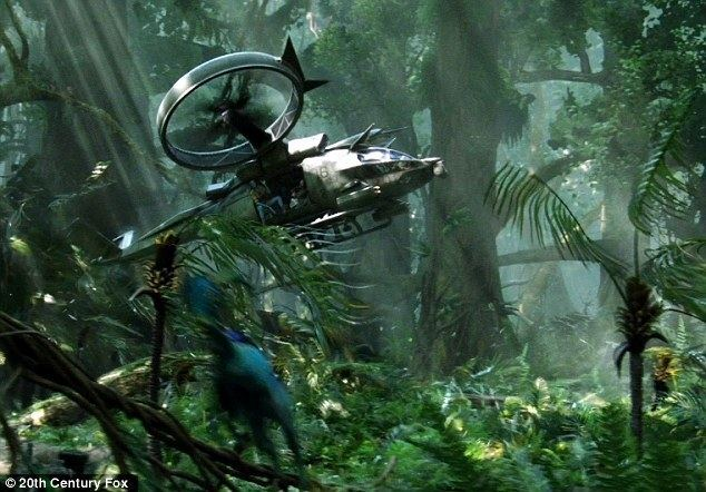 Little Alien movie scenes Avatar The film is set on a distant planet allowing luscious scenery in full 3D In this scene a spaceship prepares to land in a verdant forest on the