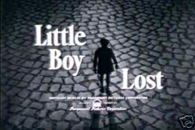 Little Boy Lost (1953 film) THE BING CROSBY NEWS ARCHIVE LITTLE BOY LOST A PERSONAL RESPONSE