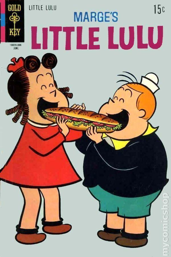 Little Lulu Little Lulu 1948 DellGold Key comic books