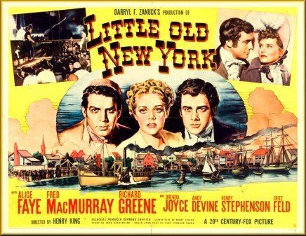 Little Old New York Little Old New York 1940 Henry King Alice Faye Fred MacMurray