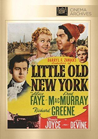 Little Old New York Amazoncom Little Old New York Alice Faye Fred MacMurrary