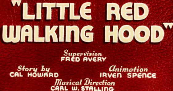 Little Red Walking Hood Likely Looney Mostly Merrie 183 Little Red Walking Hood 1937